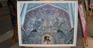 Hayal Dünyamın İncileri Resim Sergisi Açıldı