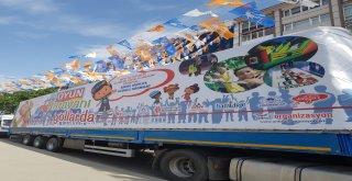 """Ümraniye Belediyesinin Sponsor Olduğu """"Oyun Karavanı Yollarda"""" 2017-2018 Yıllarında Doğu Anadolu ve Güney Doğu Anadolu Bölgesindeki 15 Şehri Gezdi"""