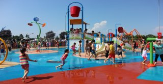 Bursanın İlk Su Oyunları Parkı Açıldı