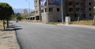 Zeydan Karalar asfalt dökümünde disiplinden taviz vermiyor