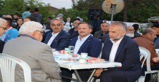 BİNLERCE VATANDAŞ AYNI SOFRA ETRAFI...