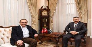 Başkan Şahin'den Vali Aksoy'a Ziyaret
