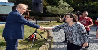 Başkan V. Tahir Doğaç Personel ile Bayramlaştı!