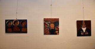 """Filistinli Mattar Ve İnegöllü Baktimur'un """"Barış"""" Sergisi Müzede Görücüye Çıktı"""