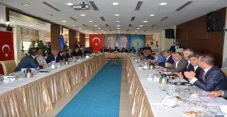 Belediye Başkanımız İrfan Tatlıoğlu, Çevre ve Şehircilik Bakanlığımızın düzenlediği istişare toplantısına katıldı