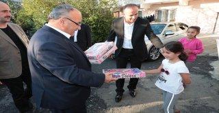 Başkan Hasan Can 15 Temmuz Gazisi Öner Uğur'a Taziye Ziyaretinde Bulundu