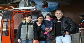 Antalya'da Teleferik projesi cazibe merkezi oldu