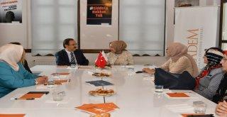 Başkan Şahin'den Kadem ve Tügva'ya Ziyaret