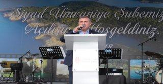 Ümraniye Belediyesi'nin Destekleriyle SİYAD Ümraniye Şubesi'nin Açılış Töreni Vatandaşlara İkram Edilen 2 Ton Mantı ile Gerçekleşti