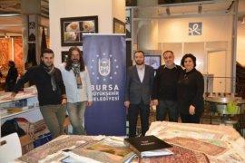 Bursa'nın ipek halıları Almanya'da