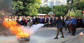 Adana Büyükşehir'de Yangın Tatbikatı