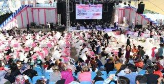 BÜYÜKŞEHİR'DEN 218 ÇİFTE DÜĞÜN ŞÖLENİ