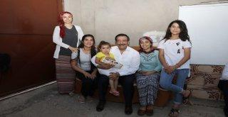 Başkan Atilla'dan aile ziyareti