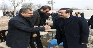 Başkan Atilla'dan,Sur İlçesine Ziyaret