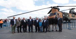 Başkan Hasan Can, Türkiye'nin İlk Havacılık, Uzay ve Teknoloji Festivali TEKNOFEST'e Katıldı