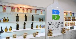 Balıkesir Büyükşehir Belediyesine Kırsal Hizmetler Daire Başkanlığı tarafından açılan mağaza hizmete girdi.