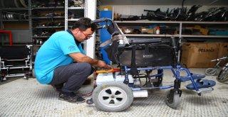 Tekerlekli sandalyeler Nilüfer'de ücretsiz tamir ediliyor