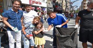 '15 Eylül Dünya Temizli Günü' kapsamında Balıkesir Büyükşehir Belediyesi Çevre Koruma ve Kontrol Daire Başkanlığı ile Balıkesirspor BALTOK takımının ortaklaşa düzenlediği organizasyonda anlamlı bir et