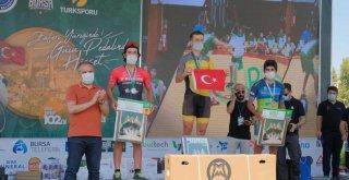 'Granfondo Bursa'da ödüller sahiplerini buldu