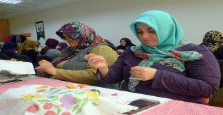 Osmangazi'den Kadınlara İğne Oyası Eğitimi