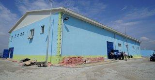 BASKİ Genel Müdürlüğü tarafından yapımı tamamlanan Susurluk İçme Suyu Arıtma Tesisi inşaatıyla ilgili olarak BASKİ Genel Müdürü Talat Özen, Genel Müdür Yardımcıları Ali Seyfi Küçükgöncü, İzzet Günal v