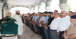 Başkan Hasan Can Vefat Eden Harun Memiş İnan'ın Cenazesine Katıldı