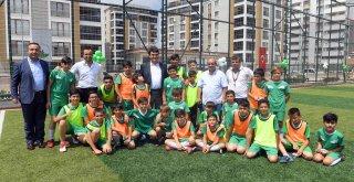Güneştepe Spor Tesisi ve Oyun Parkı Törenle Açıldı
