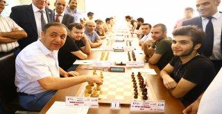 Hatay'da Uluslararası Satranç Turnuvası  Heyecanı