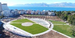 Antalya'da Millet Bahçesinde sona gelindi