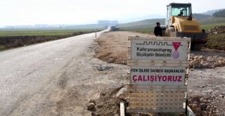 Türkoğlu'nda Yeni Bulvar Çalışması