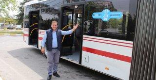 Gençlerin kullandığı hatlarda otobüslere internet