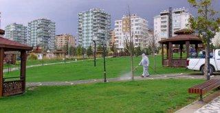 Mesire Alanları ve Millet Bahçeleri Dezenfekte Edildi