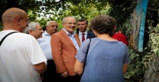 Büyükşehir Belediye Başkanı Zekai Kafaoğlu'nun Antandros kazılarının gün yüzüne çıkması için vereceği destek dernek yöneticileri ve sanatseverler tarafından takdirle karşılandı.