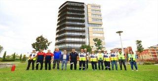 Büyükşehir DESKİ'de yangın ve deprem tatbikatı