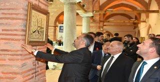 Bursa'da Hilye-i Şerif ve İsm-i Nebi sergisi