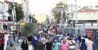 Alemdağ Caddesi'nde Kurban Bayramı Öncesi Alışveriş Yoğunluğu Yaşanıyor!