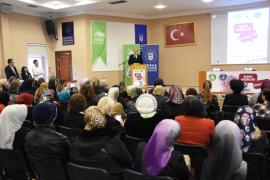 Bursa'da 'söz hakkı' kadınların
