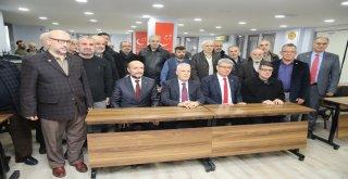 Bozbey'den Saadet Partisi'ne ziyaret
