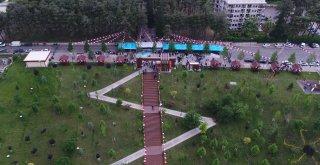 15 Temmuz Millet Bahçesi açıldı