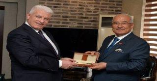 Kardeş Ülke Azerbaycan Heyeti Başkan Kocamaz'ı Ziyaret Etti