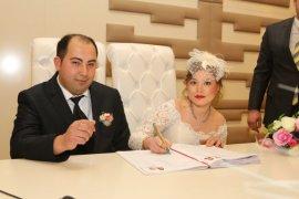 Aşklarını 14 Şubat'ta nikahla taçlandırdılar