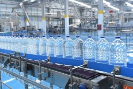 Bursa Büyükşehir,Uludağ'ın sularını şişelemeye başladı.