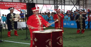 Yaz Kur'an Kursu Spor Okulları Kapanış Töreni Gerçekleştirildi