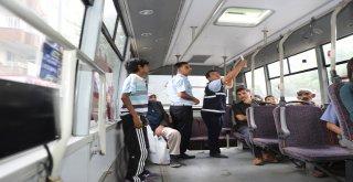 Zabıta ekipleri toplu taşıma denetimlerini sıklaştırdı