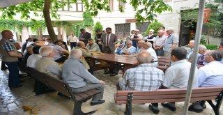 BAŞKAN YILMAZ 'HUZUR' ZİYARETİNDE