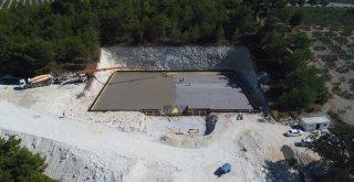 7 Bin 500 Tonluk İçme Suyu Deposunda Çalışmalar Devam Ediyor