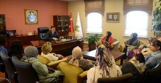 AK Parti Osmangazi Kadın Kolları'ndan Başkan Dündar'a Ziyaret