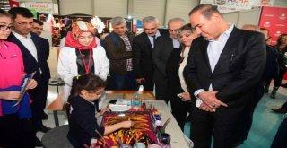 Başkan Sözlü'den 'Benim Okulum Eğitim Fuarı'nda Örnek Ev Sahipliği