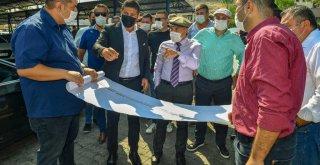Başkan Tunç Soyer,Projeleri inceledi, yeni projelerin müjdesini verdi