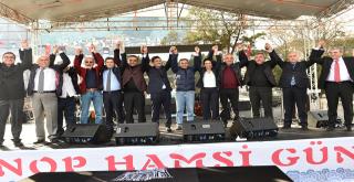 2. Sinop Hamsi Günü Beşiktaş'ta!